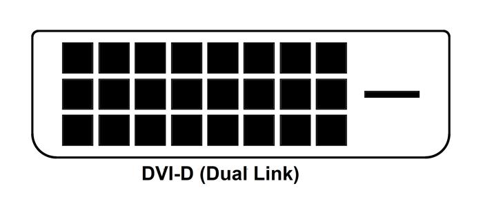 Dvi D Dual Link Connector Pinout In 2020 Dvi Connector Tech Company Logos