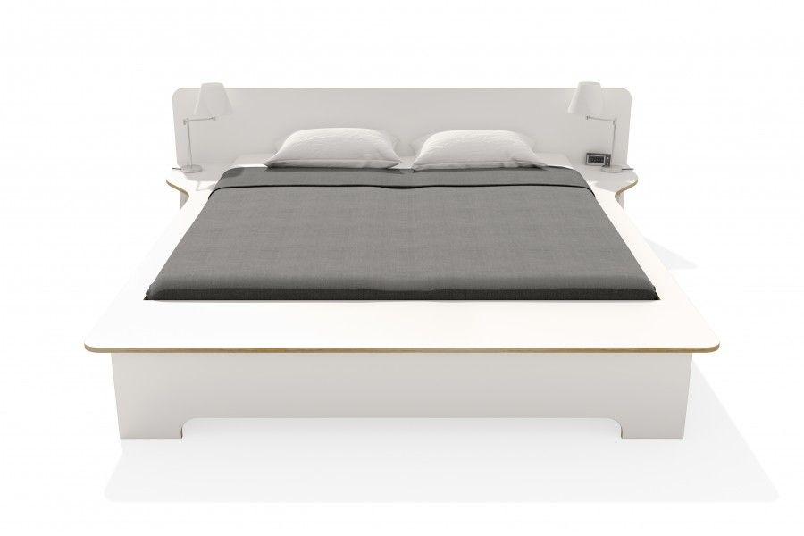 PLANE Doppelbett weiss mit Bettkasten Möbel Pinterest