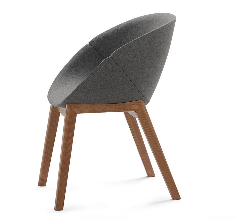 http://www.houzz.com/photos/26776710/Coquille-L-Chair-Dark-Gray-Wool-With-Walnut-Legs-modern-dining-chairs