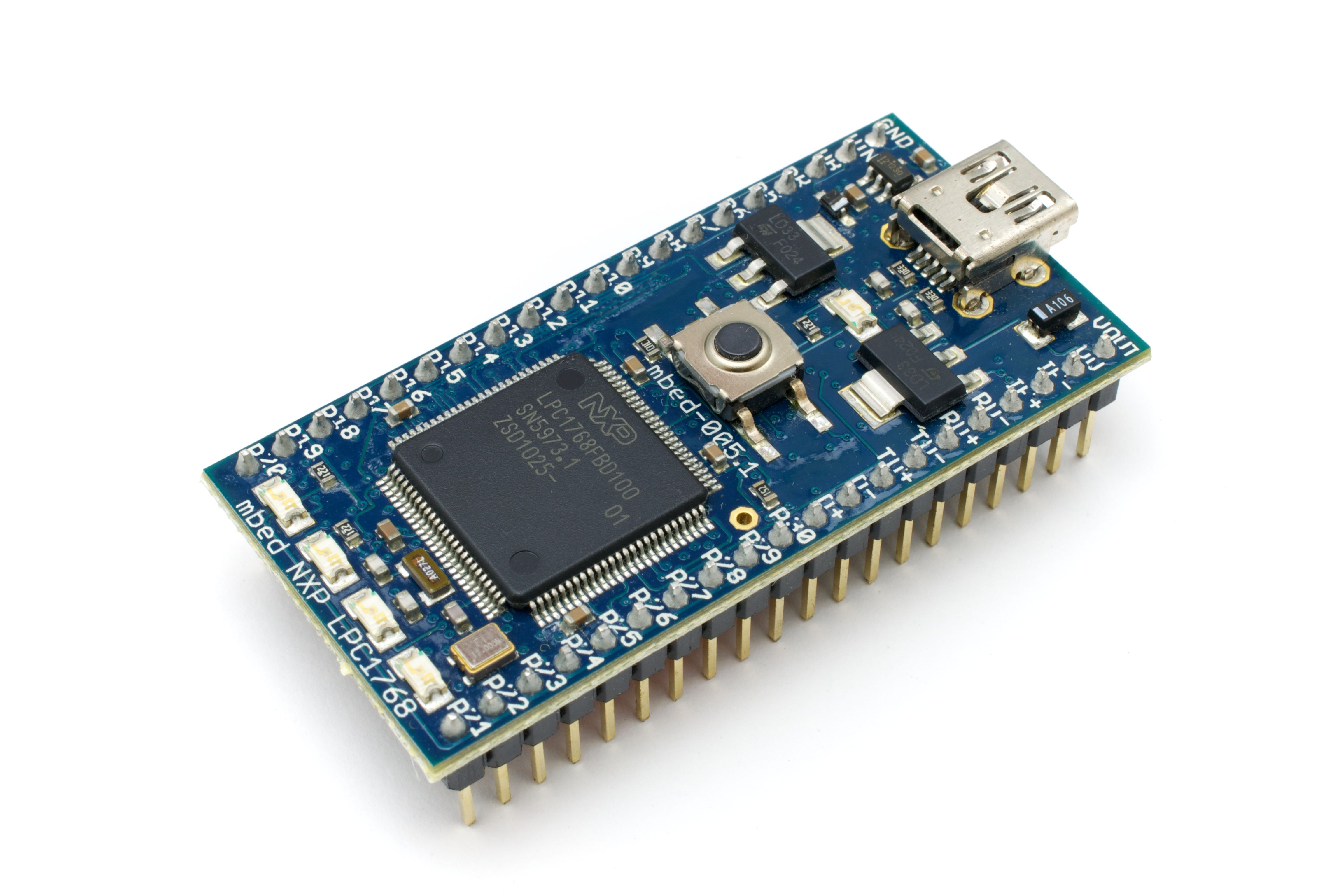 Mbed nxp lpc by arduino microprocessor