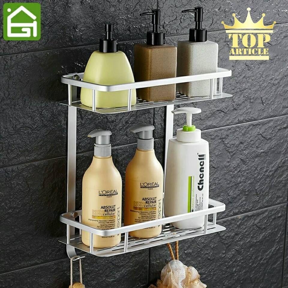 Étagère / Serviteur de douche en Alu pour salle de bain Etagere