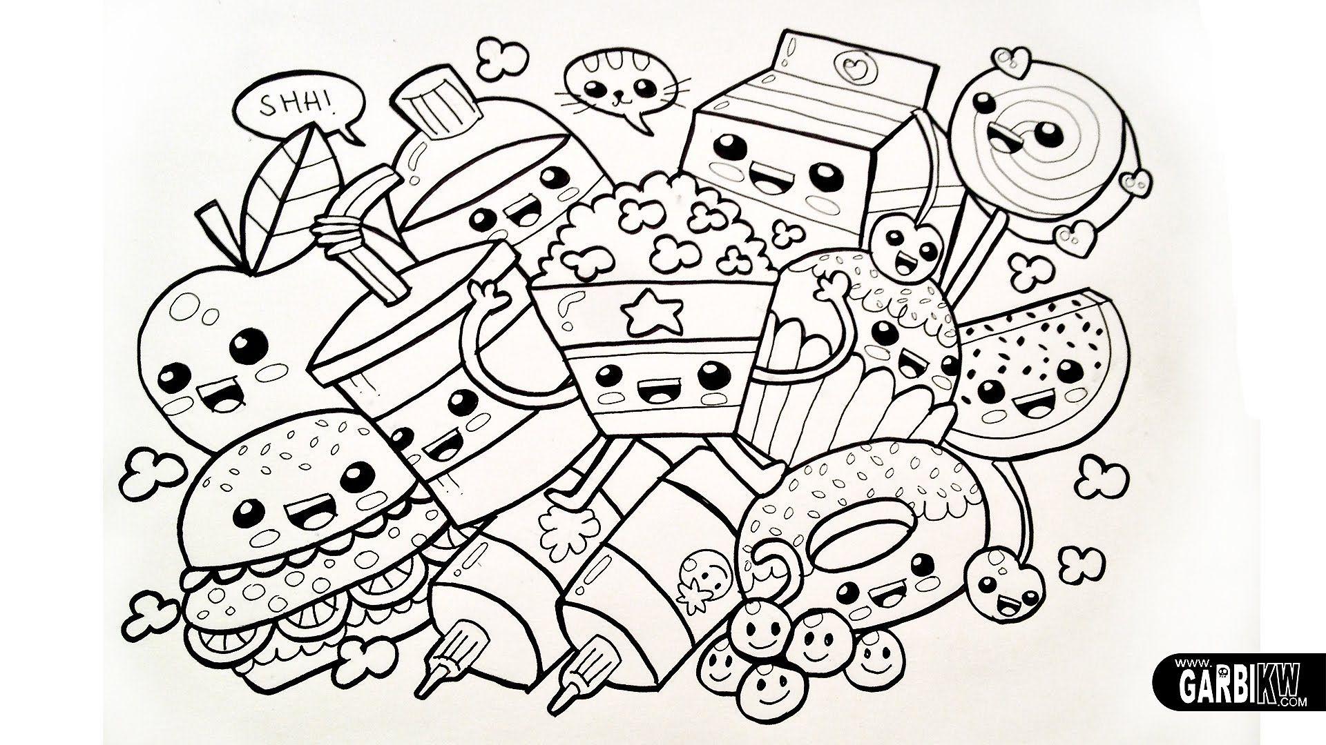 Drawing Cute Food