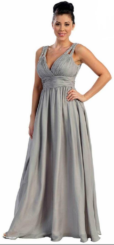 Modelos de Vestidos Largos para Chicas Gorditas