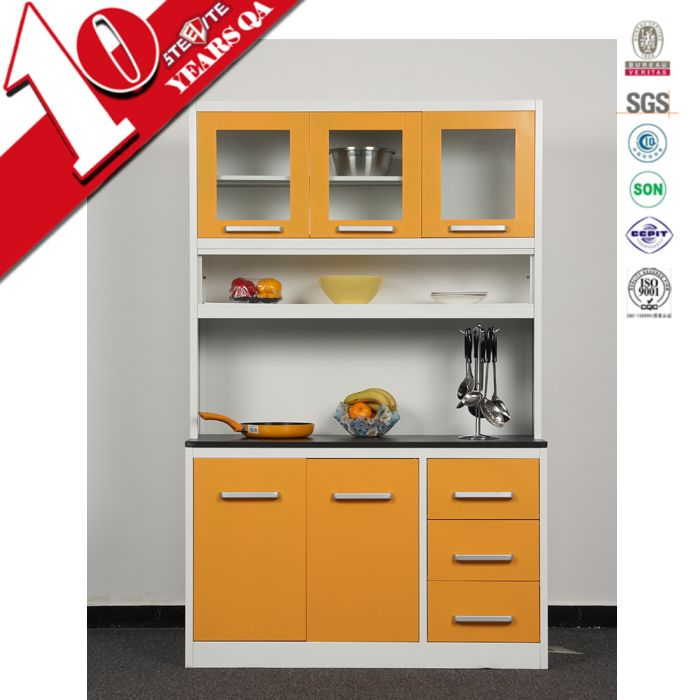 China 2016 new products top grade kitchen cabinets two ...