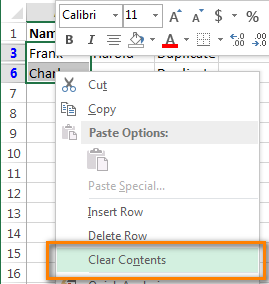Excel clear contents spreadsheet pinterest columns how to compare data between two columns to find remove or highlight duplicates in excel 2010 and 2013 worksheets ccuart Choice Image