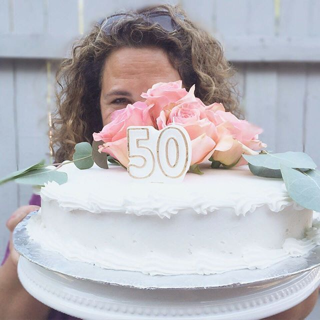 The sneakiest one in our family, had one pulled over on her, for once. Happy 50th, Momma! We love you! Thanks to everyone who made it a success! #overthehill #happy50th