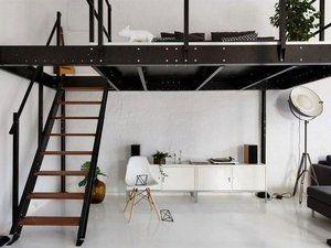Une Mezzanine Pour Agrandir L Espace De Vie Lits Mezzanine