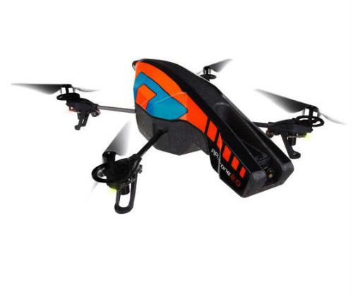 PARROT AR.DRONE 2.0 WITH OUTDOOR HULL (ORANGE/ BLUE)