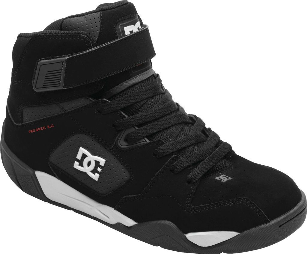 dc shoes ken block pro spec 3 0 racing shoes black white 9. Black Bedroom Furniture Sets. Home Design Ideas