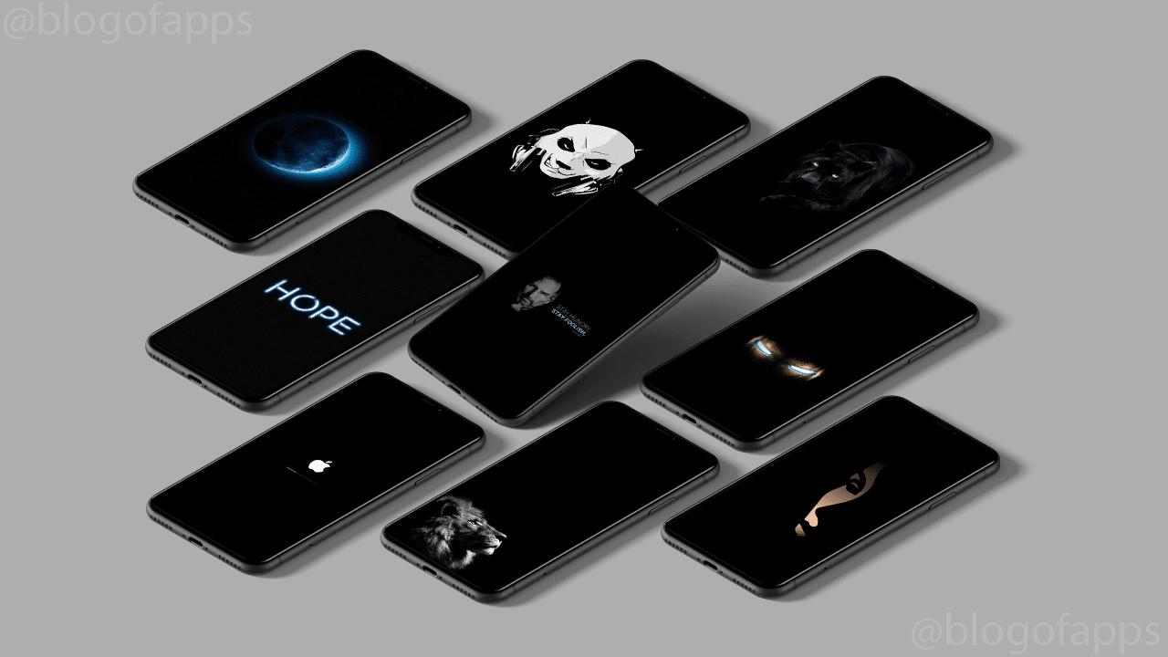 50 خلفية سوداء للايفون Iphone Iphone Wallpaper Wallpaper