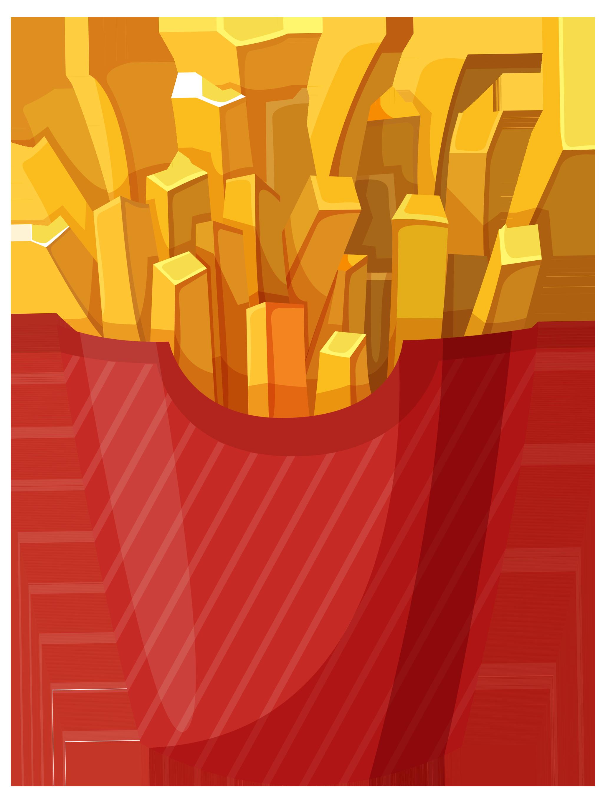 Pin De Charudeal Em French Fries Adesivo Para Latinha Desenho De Hamburguer Batata Desenho