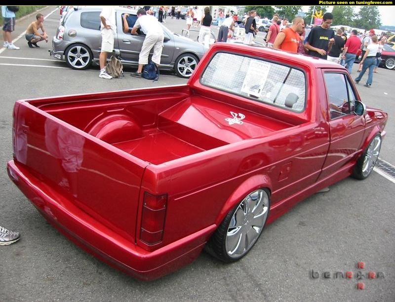 vw caddy big bumper rear  VDub Caddys  Pinterest  Mk1