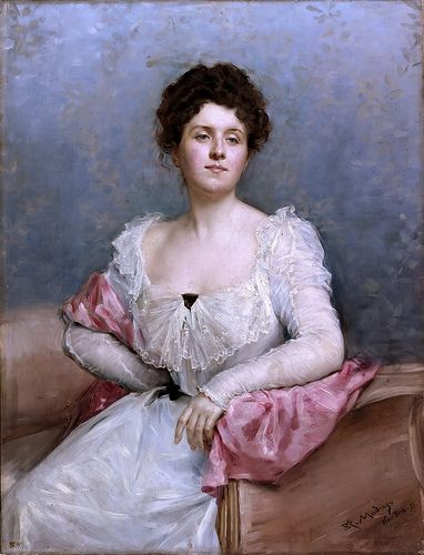 Raimundo de Madrazo y Garreta - Portrait of a Woman [1899]