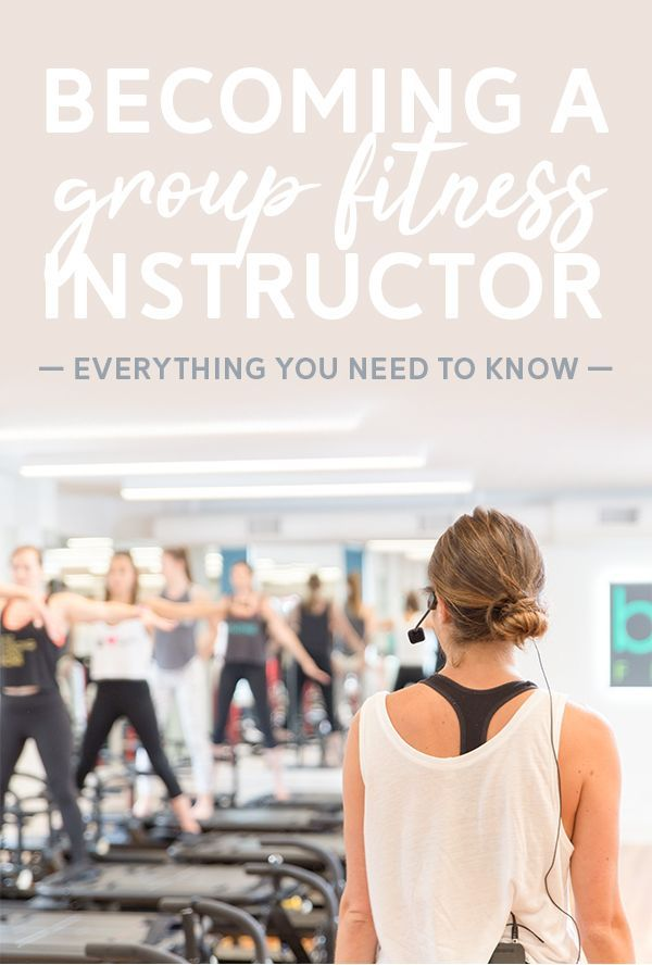 Everything you need to know about becoming a group fitness instructor. Certifications, how much you...