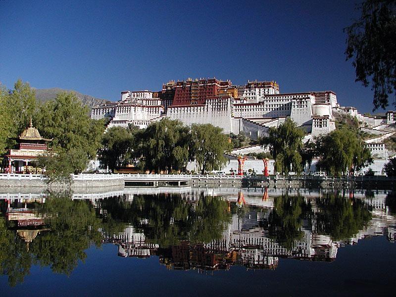 Potala Palace in Lhasa China
