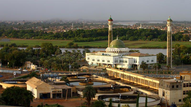 Al Mogran Mosque Khartoum Sudan Photograph Of Al Mogran Mosque Khartoum Sud Sponsored Mosque Mogran Most Beautiful Cities Tourist Places Khartoum