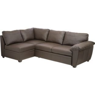 Astonishing Buy Fernando Leather Left Hand Sofa Bed Corner Group Caraccident5 Cool Chair Designs And Ideas Caraccident5Info