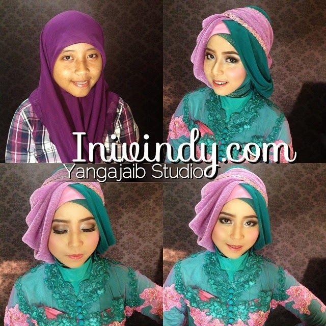 Mencari Mua Untuk Makeup Wisuda Di Kota Malang Gaya Hijab Terbaru 2014 Ala Vindy Kursus Hijab Kebaya Jilbab Gaya Hijab