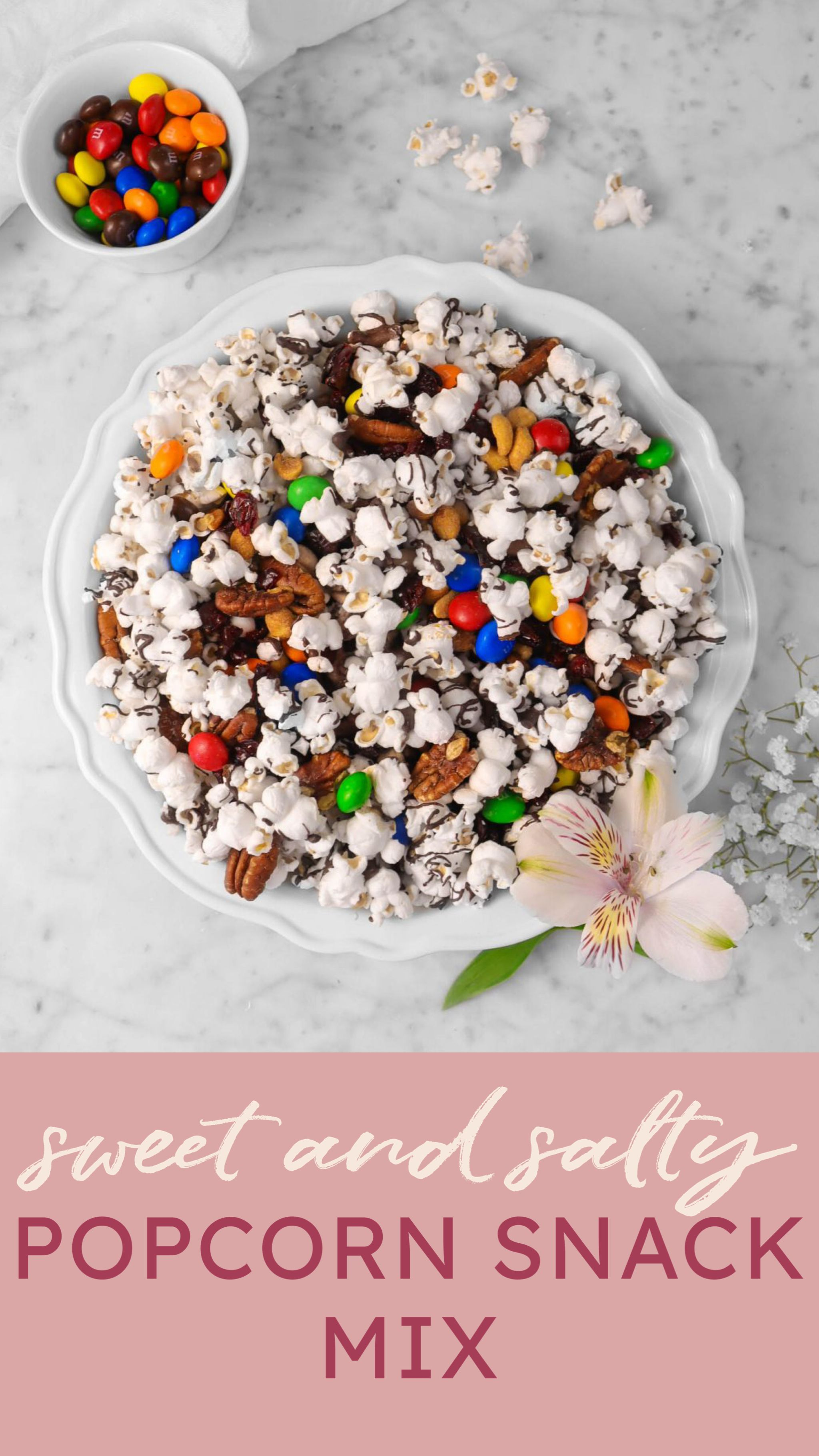 Sweet And Salty Popcorn Snack Mix In 2020 Popcorn Snacks Mix Snack Mix Recipes Snack Mix
