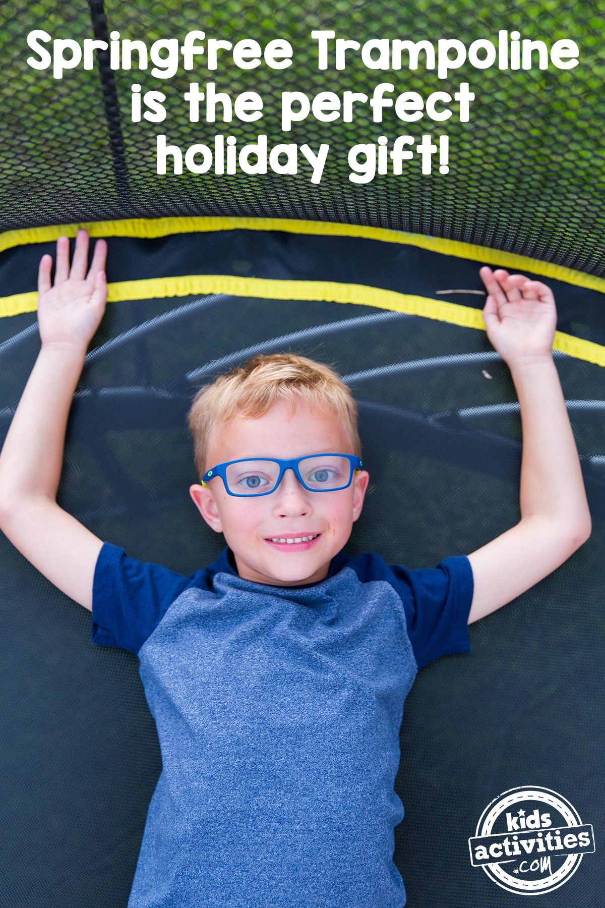 The Best Holiday T For Kids A Springfree Trampoline