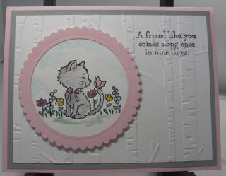 Kitties Embossing Folder