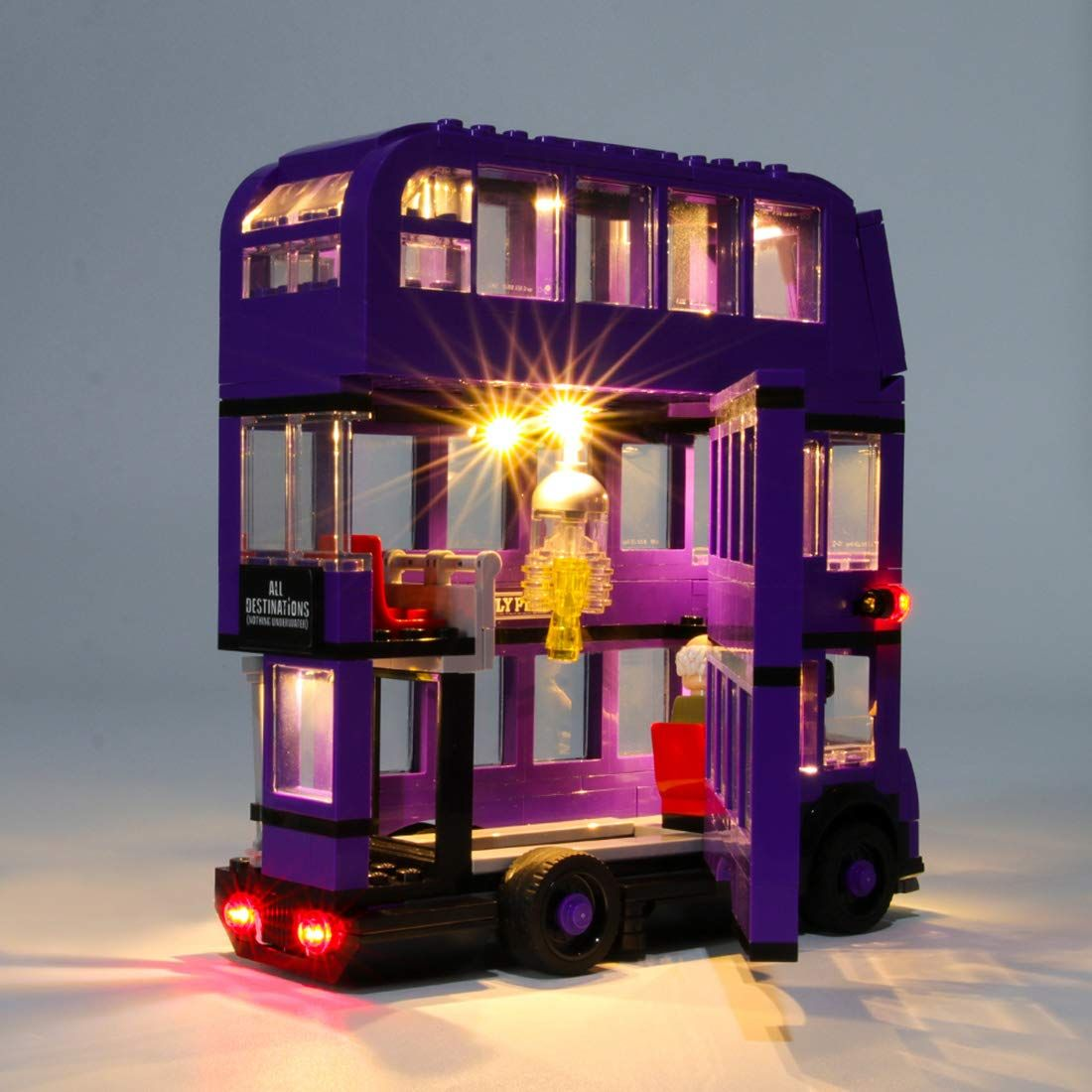 Poxl Led Beleuchtungsset Licht Set Fur Lego Harry Potter Knight Bus Led Kabel Licht Kit Fur Lego 75957 Ohne Lego Set In 2020 Lego Sets Lego Harry Potter Led