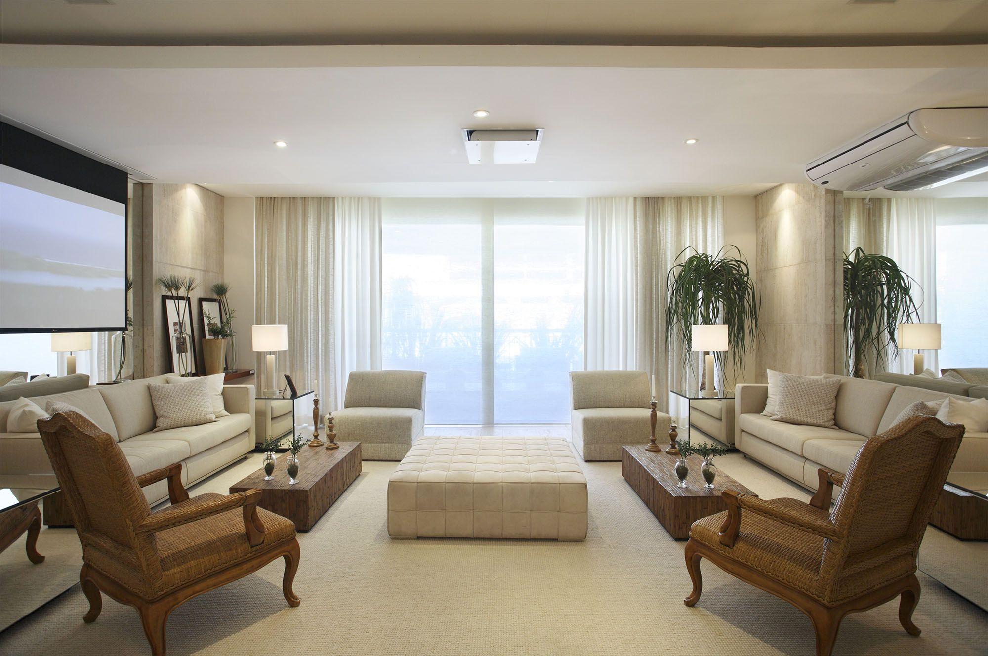 Apartamento 39 foto 18 home salas decora o de for Foto casa classica