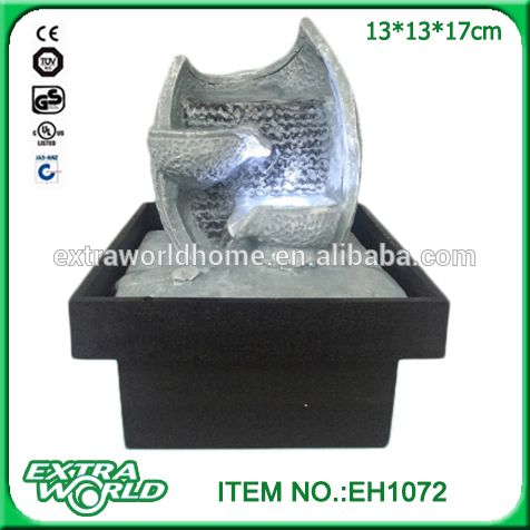 Polyresin Indoor Small Battery Operated Water Fountain