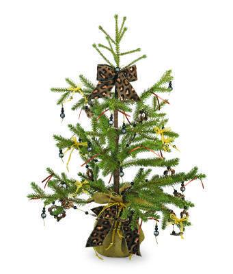 Leopard Holiday Tree