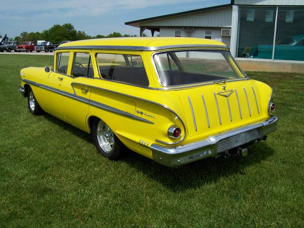 1958 Chevy Nomad Station Wagon | MotoeXotica Classic Car Sales ...