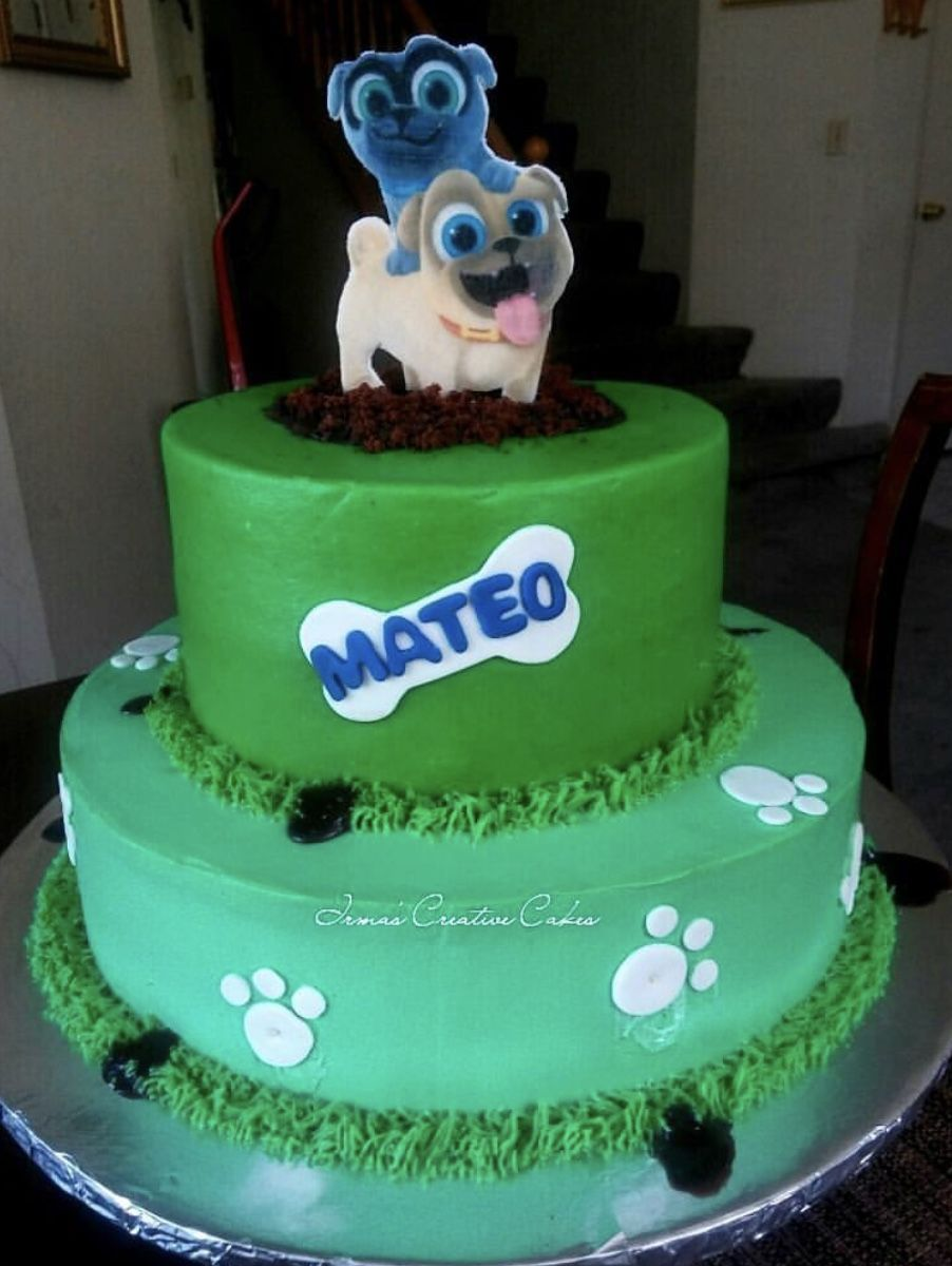 Puppy Dog Pals Cake Puppy Birthday Boy Birthday Party Themes