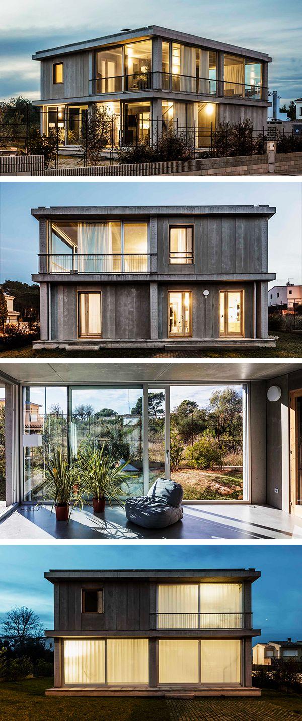 Casa 1217 by H Arquitectes in L\'Escala, Spain | Moderne häuser und ...