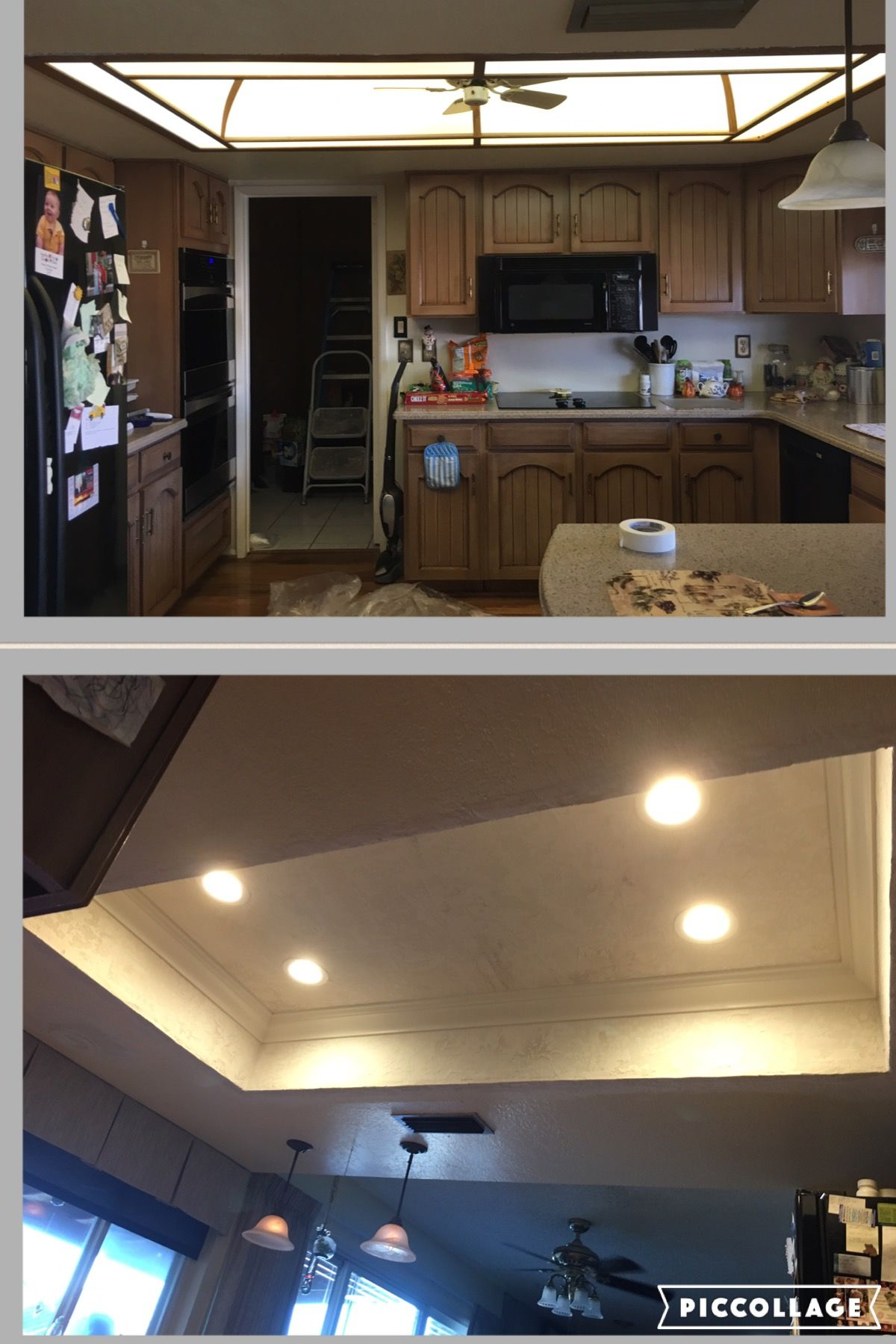 AZ Recessed Lighting Kitchen Transformation Demo LED lighting