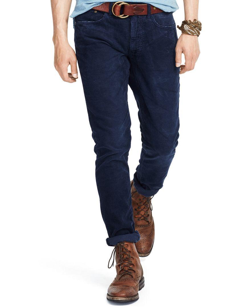 Corduroy Polo PantsProducts Ralph Straight Slim Lauren Varick FcJlK1