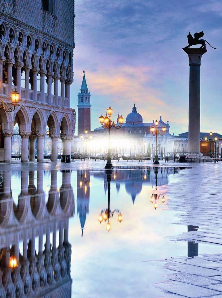 Photo of Venice reflection