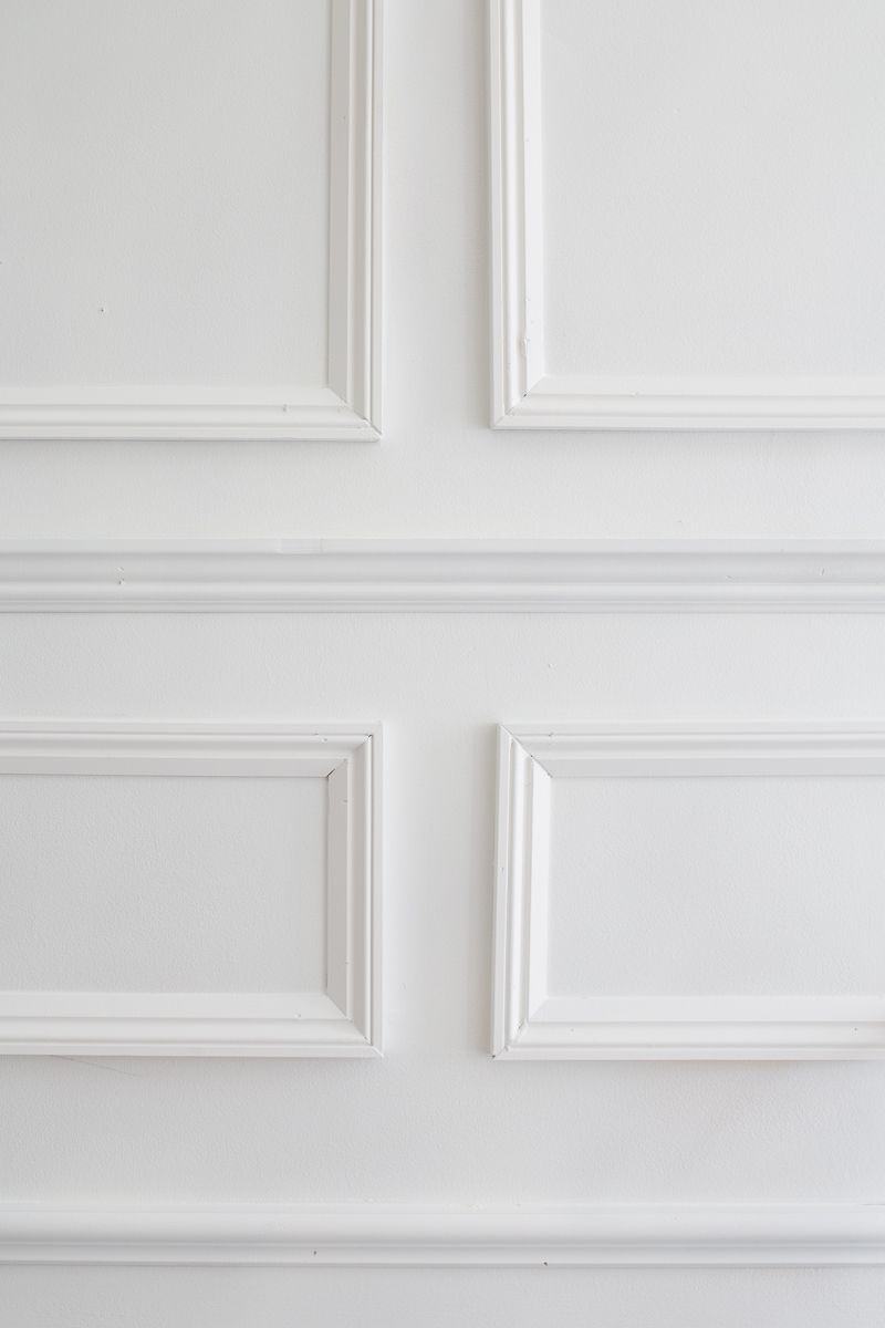 Five Moulding Tricks To Give Height To Your Ceilings Moulding Hack Moulding Ideas Moulding Tutorial Wall Molding Decorative Wall Molding Wall Panel Molding