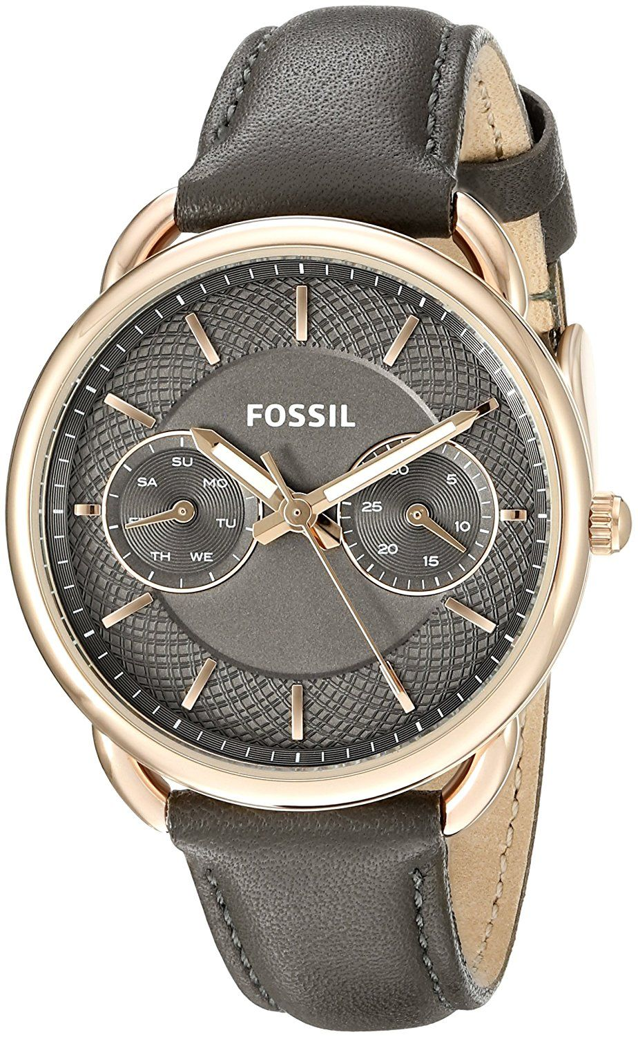 Fossil Tailor Multifunction Leather Gotteamdesigns Es3954 Light Brown Watch You Can Find Out More Details At The Link