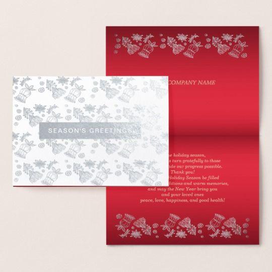 Seasons greetings luxury holiday corporate cards holidays m4hsunfo