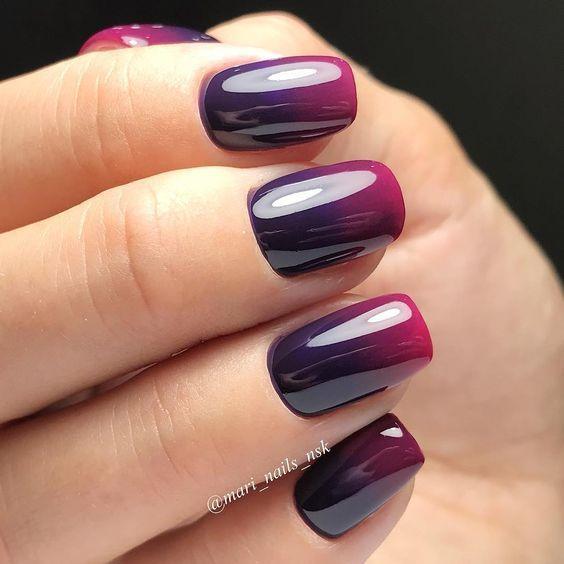 Weinrote Nägel sind so perfekt für den Herbst! Ich hoffe, Sie stimmen zu und lesen den Artikel. #WineRedNails #FallNails #MatteNails
