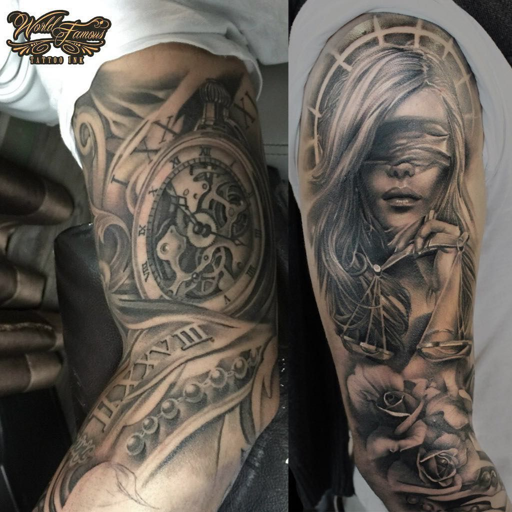 Pin By Justin Bowers On Lady Justice Tattoos