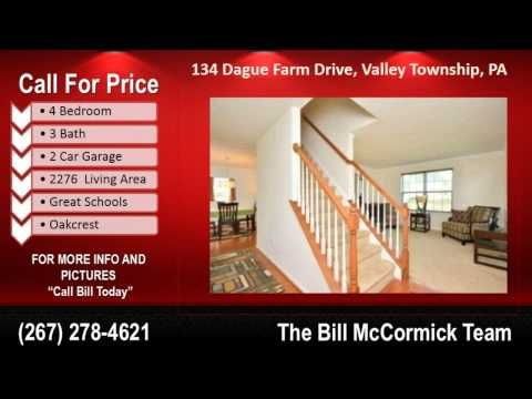 Call Bill today - big prce reduction. 19320 house for sale 4BR in oakcrest subdivision valley township pa