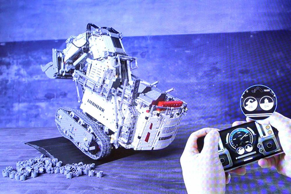 R 7 With 9800 Control2 Motors TechnicLiebherr Lego Hubsamp; New POnX0wk8