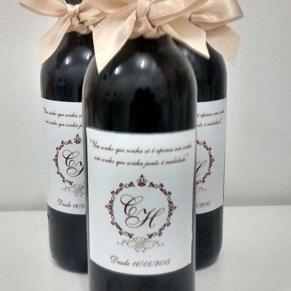 Adesivo mini vinho