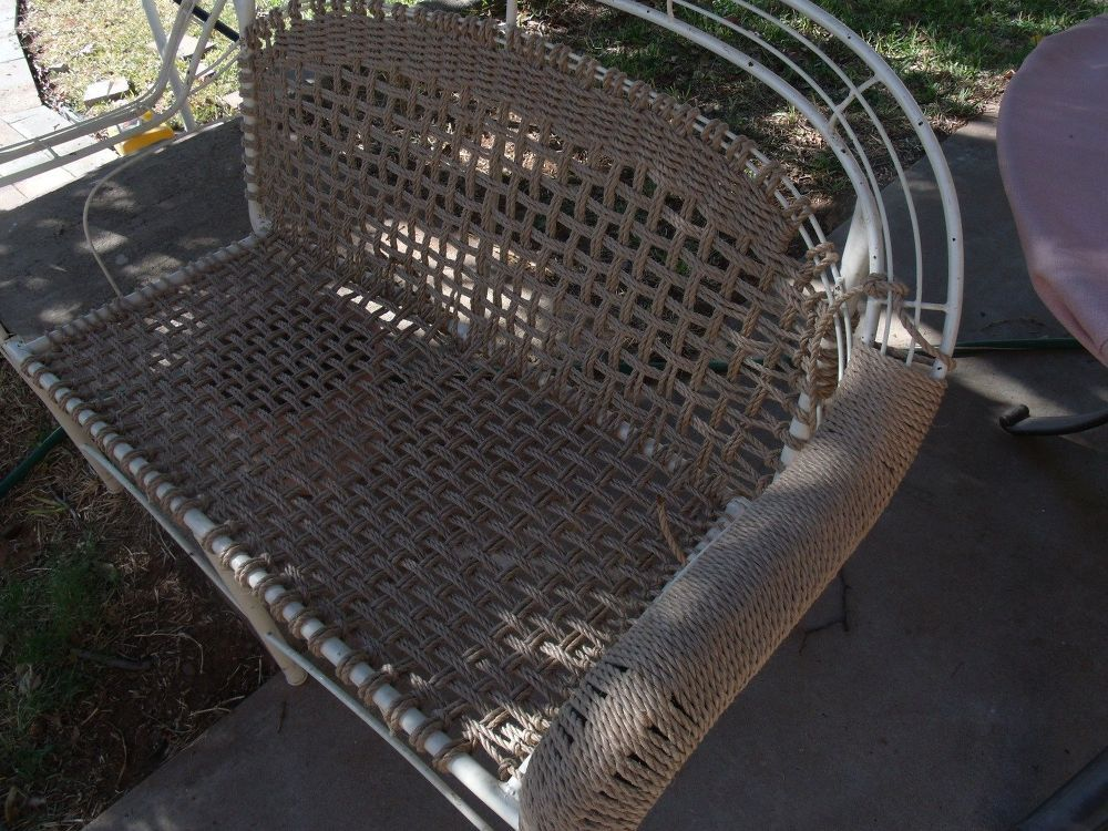 New Life to Inexpensive Resin Wicker Chairs