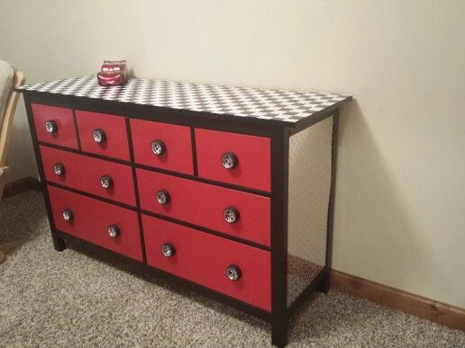 Lightning Mcqueen Dresser With Images