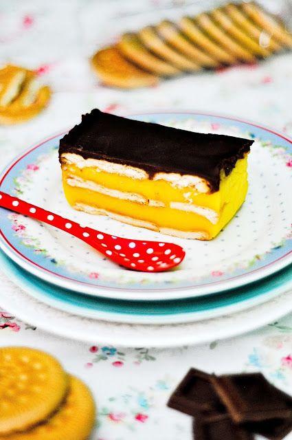 OBSESIÓN CUPCAKE: Tarta de Galletas, Chocolate y Crema