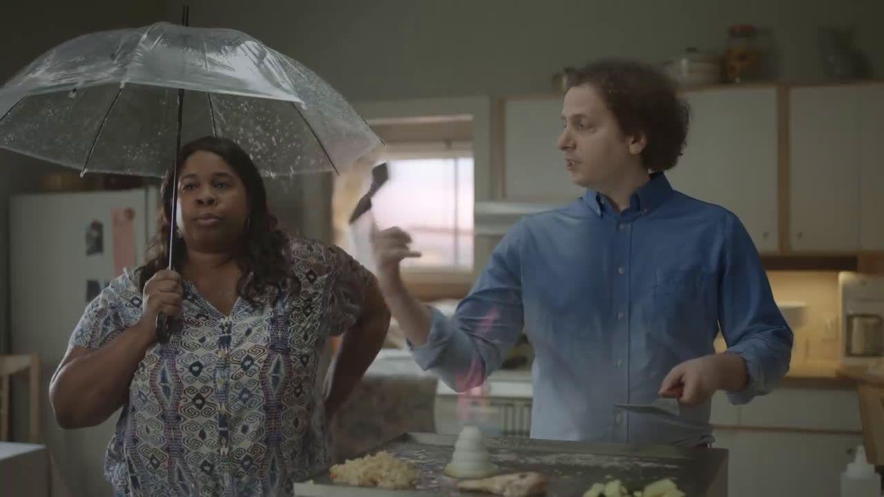 Geico Chevonne Hughes And Josh Sussman Hibachi Grilling Ad