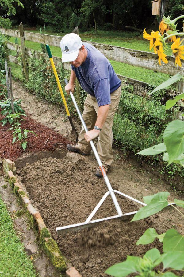 Raise Your Own Veggies Garden Rake Planting Vegetables Make Your Bed