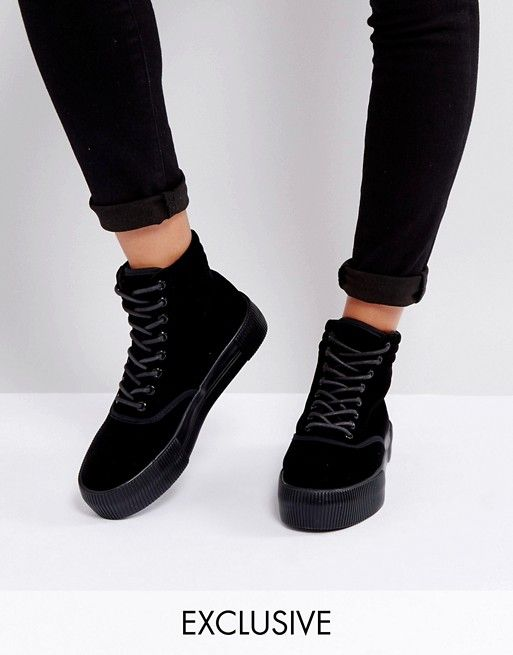 1257697fde703 Discover Fashion Online Black Lace Up Boots, Lace Up Shoes, Platform  Sneakers, All