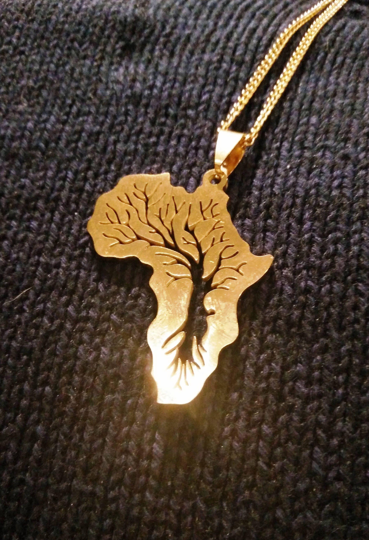 Africa necklace 4eb9dcbea639